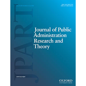 Journal of Public Administration Research And Theory cover